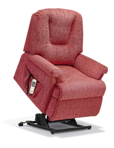 Milburn Petite Fabric 'Lift & Rise' Recliner