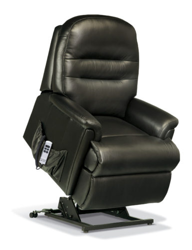 Keswick Petite Leather 'Lift & Rise' Recliner