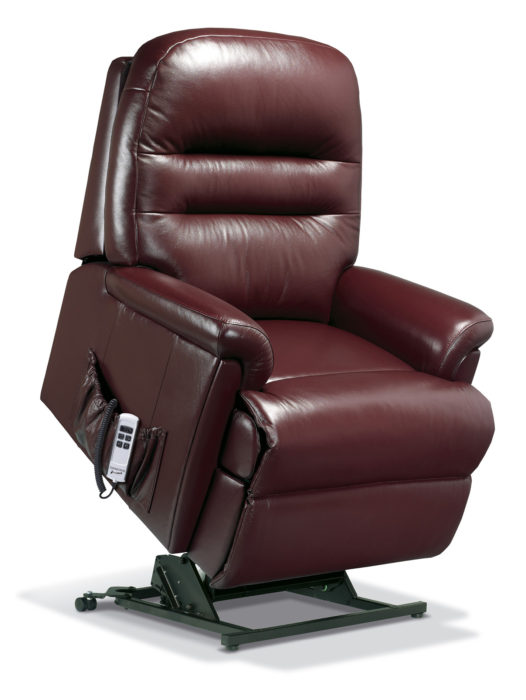 Keswick Royale Leather Electric Riser Recliner Sherborne