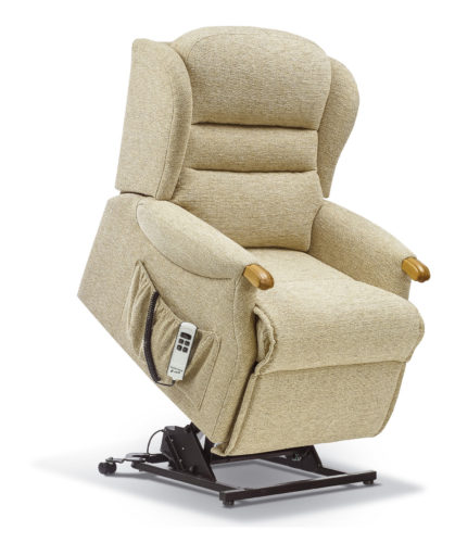 Ashford Knuckle Petite Fabric 'Lift & Rise' Recliner