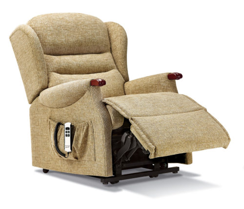 Ashford Knuckle Small Fabric 'Lift & Rise' Recliner