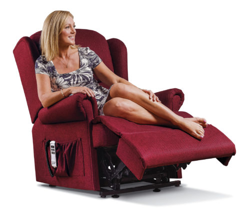 Malvern Royale Fabric 'Lift & Rise' Recliner