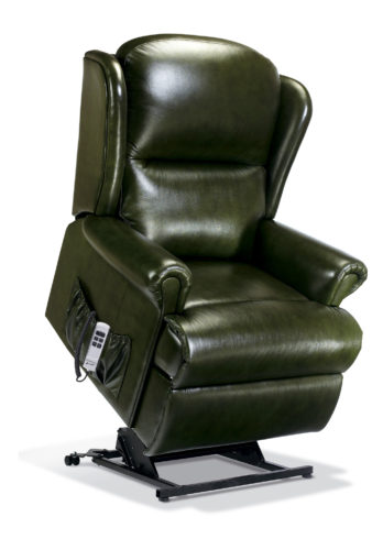 Uploaded ToMalvern Royale Leather 'Lift & Rise' Recliner