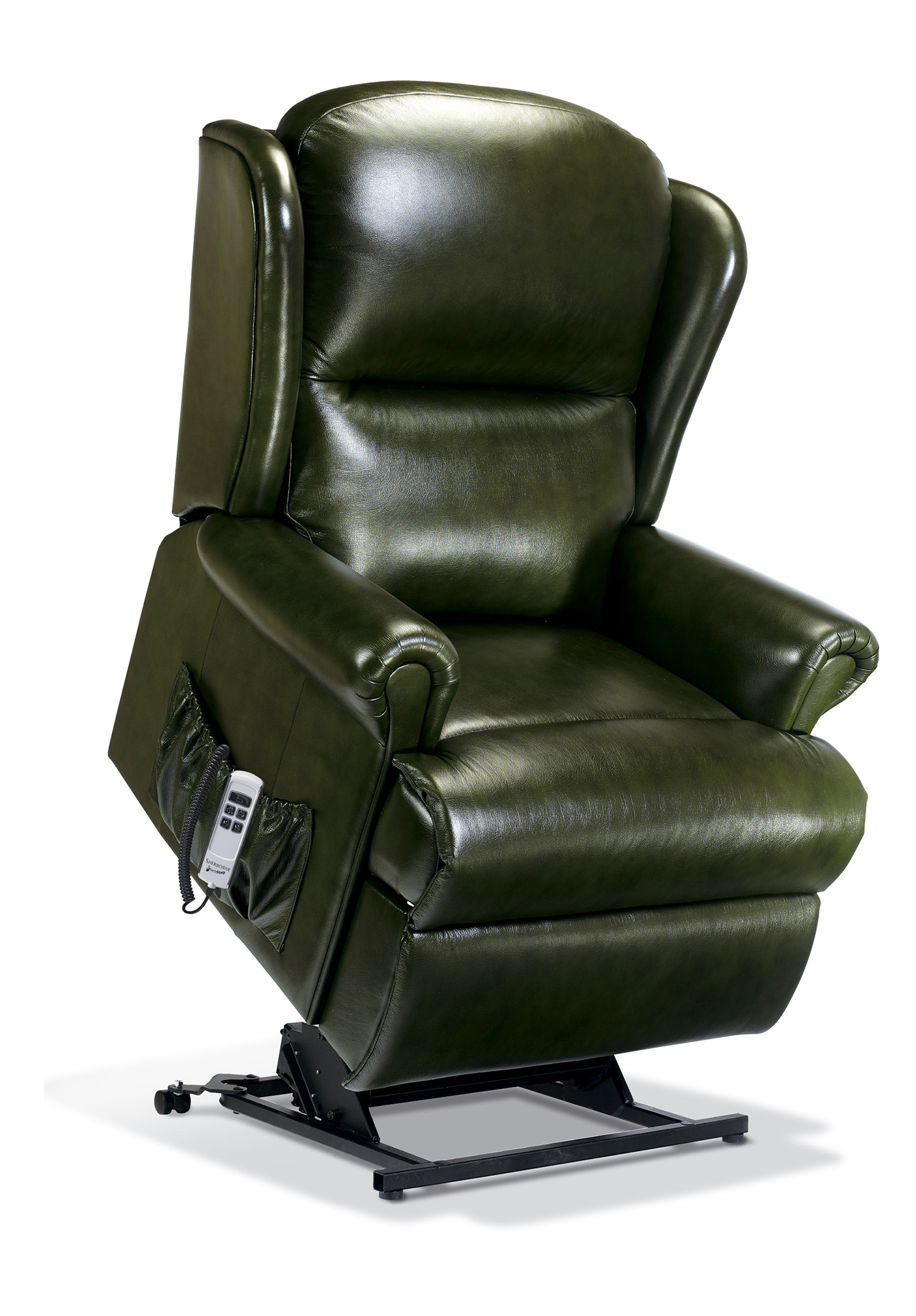 Malvern Royale Leather Electric Riser Recliner Sherborne