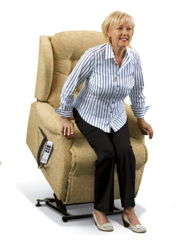 Lynton Knuckle Standard Fabric 'Lift & Rise' Recliner