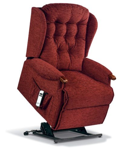 Lynton Knuckle Royale Fabric 'Lift & Rise' Recliner