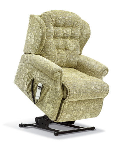 Lynton Petite Fabric 'Lift & Rise' Recliner