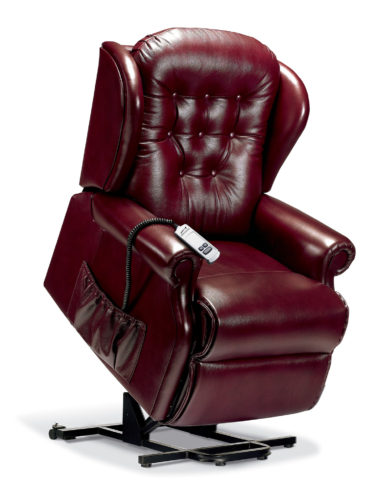 Lynton Standard Leather 'Lift & Rise' Recliner