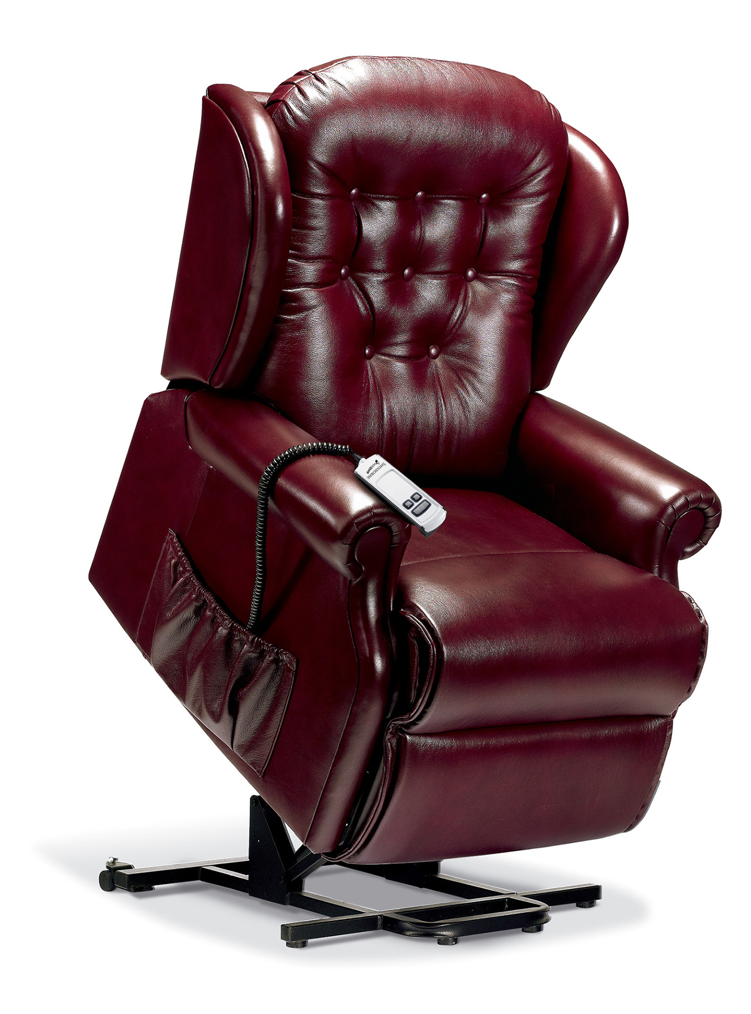 Lynton Standard Leather Electric Riser Recliner