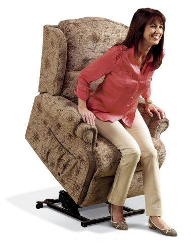 Claremont Standard Fabric 'Lift & Rise' Recliner