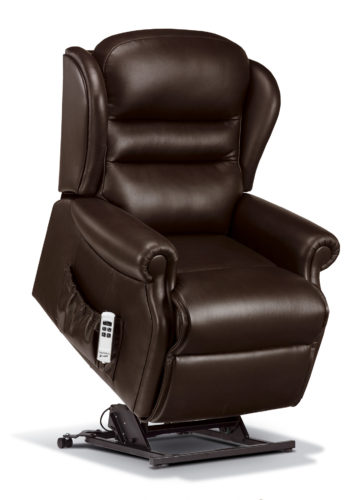 Ashford Standard Leather 'Lift & Rise' Recliner