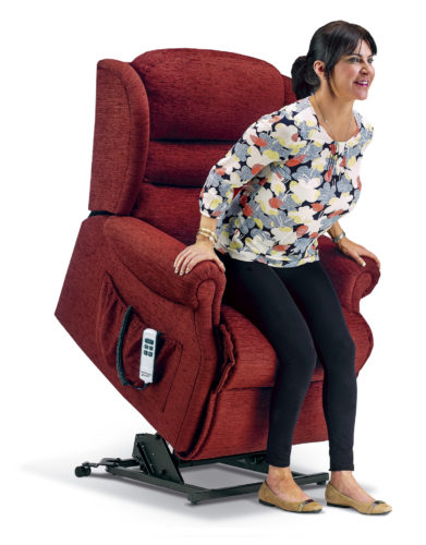 Ashford Standard Fabric 'Lift & Rise' Recliner