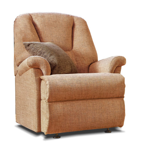 Milburn Small Fabric Fixed Chair