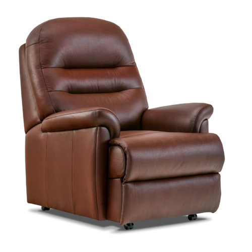Keswick Petite Leather Fixed Chair