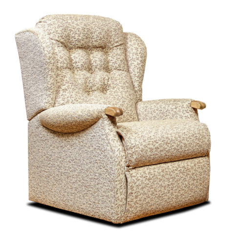Lynton Knuckle Standard Fabric Fixed Chair