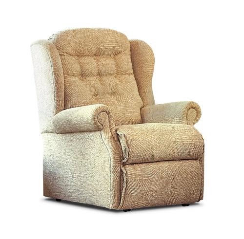 Lynton Small Fabric Fixed Chair