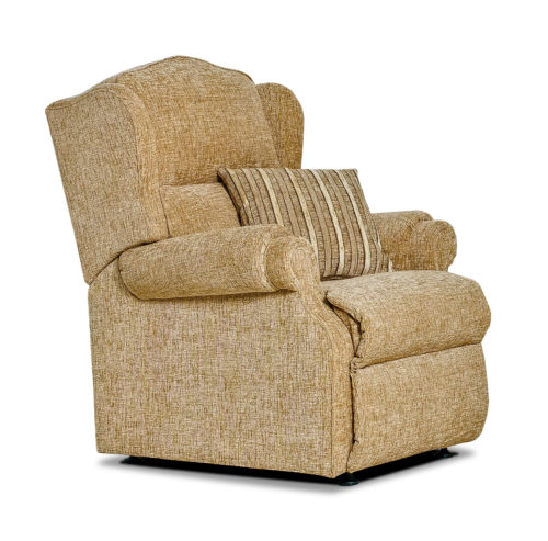Claremont Small Fabric Fixed Chair