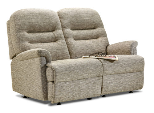 Keswick Petite Fabric Fixed 2-Seater Settee
