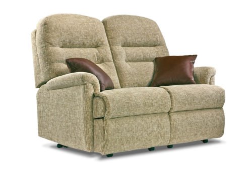 Keswick Standard Fabric Fixed 2-Seater Settee