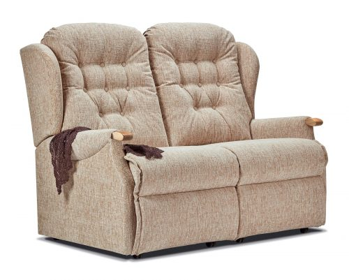 Lynton Knuckle Standard Fabric Fixed 2-Seater Settee