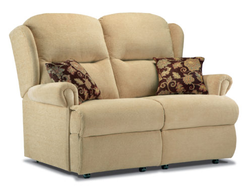 Malvern Standard Fabric Fixed 2-Seater Settee