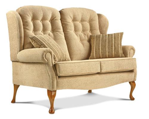Lynton Standard Fabric High Seat Settee