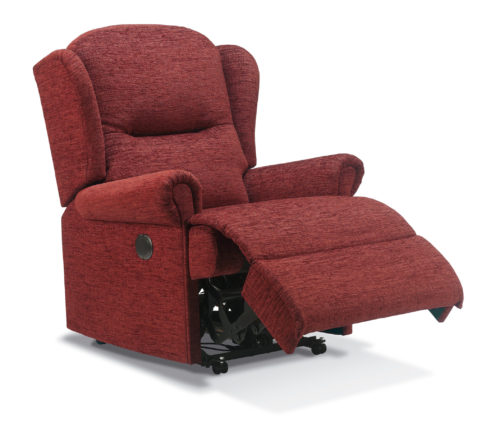 Malvern Small Fabric Recliner