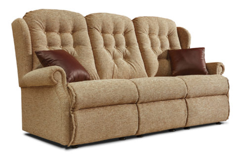 Lynton Standard Fabric Fixed 3-Seater Settee