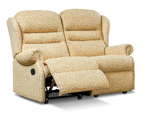 Ashford Standard Fabric Reclining 2-Seater Settee