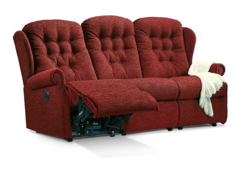 Lynton Standard Fabric Reclining 3-Seater Settee
