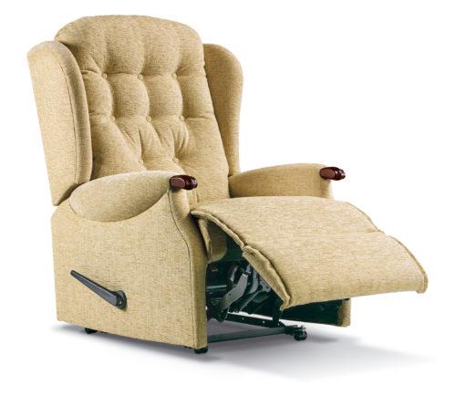 Lynton Knuckle Royale Fabric Recliner