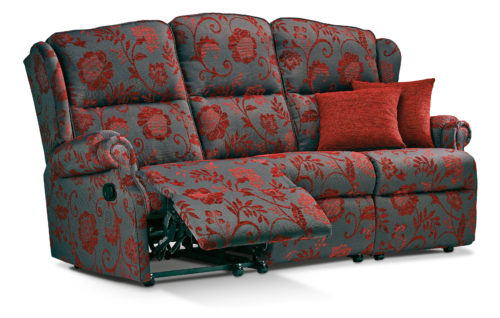 Uploaded ToClaremont Standard Fabric Reclining 3-Seater Settee