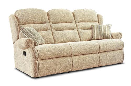 Ashford Standard Fabric Reclining 3-Seater Settee