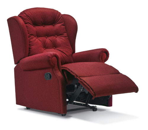 Lynton Small Fabric Recliner