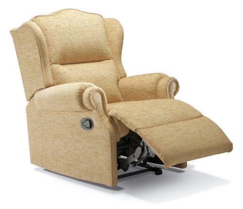 Claremont Small Fabric Recliner