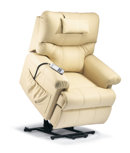 Norvik Standard Leather 'Lift & Rise' Recliner