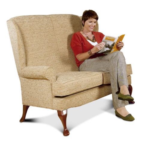 Buckingham Standard Fabric 2-Seater Settee