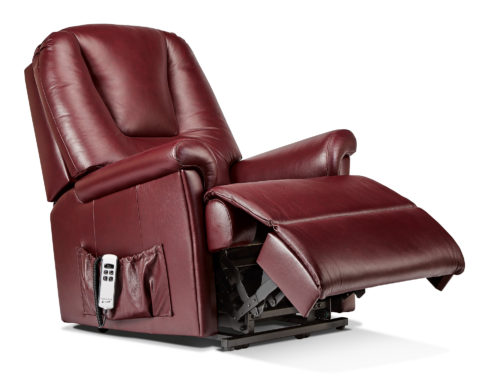 Milburn Standard Leather 'Lift & Rise' Recliner