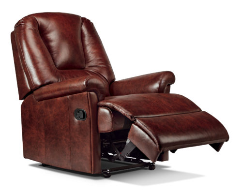 Milburn Standard Leather Recliner