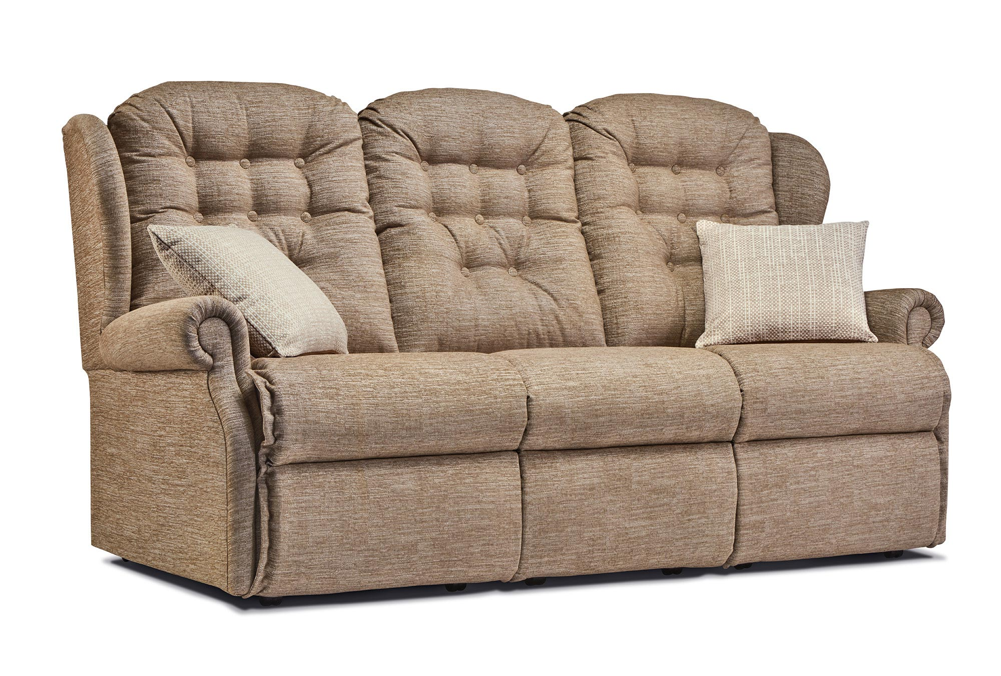 Lynton Small Fabric Fixed 3 Seater Settee Sherborne