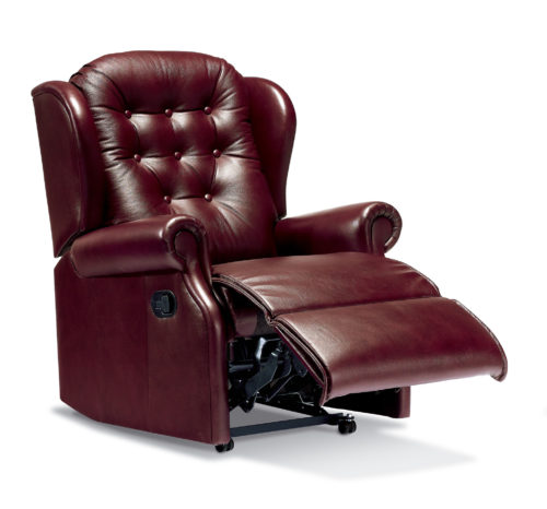 Lynton Small Leather Recliner