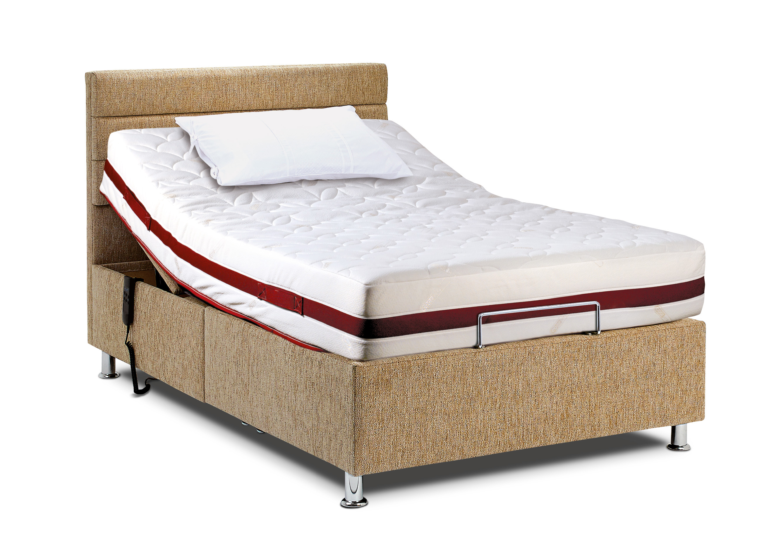 4 39 hampton head and foot adjustable bed with hampton lyon for Foot of bed furniture