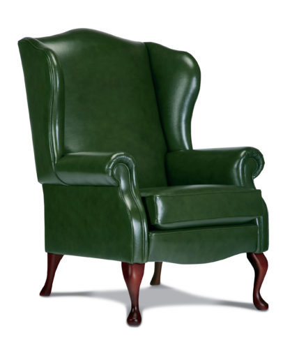 Kensington Standard Leather Fireside Chair