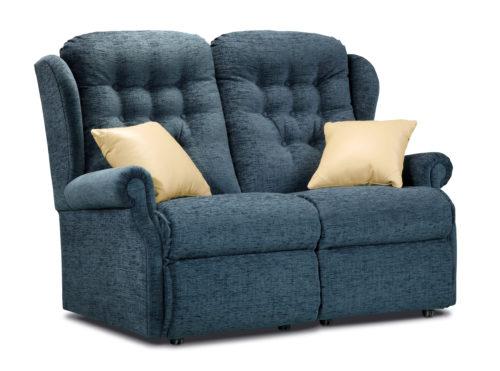 Lynton Standard Fabric Fixed 2-Seater Settee