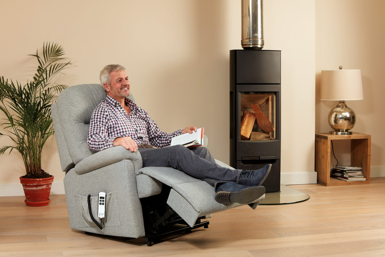 Keswick Royale Fabric Electric Riser Recliner Sherborne