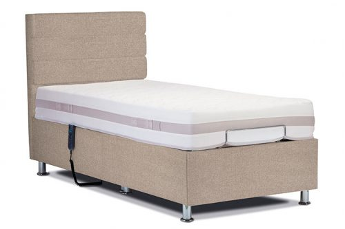 Hampton Bed Farringdon Beige