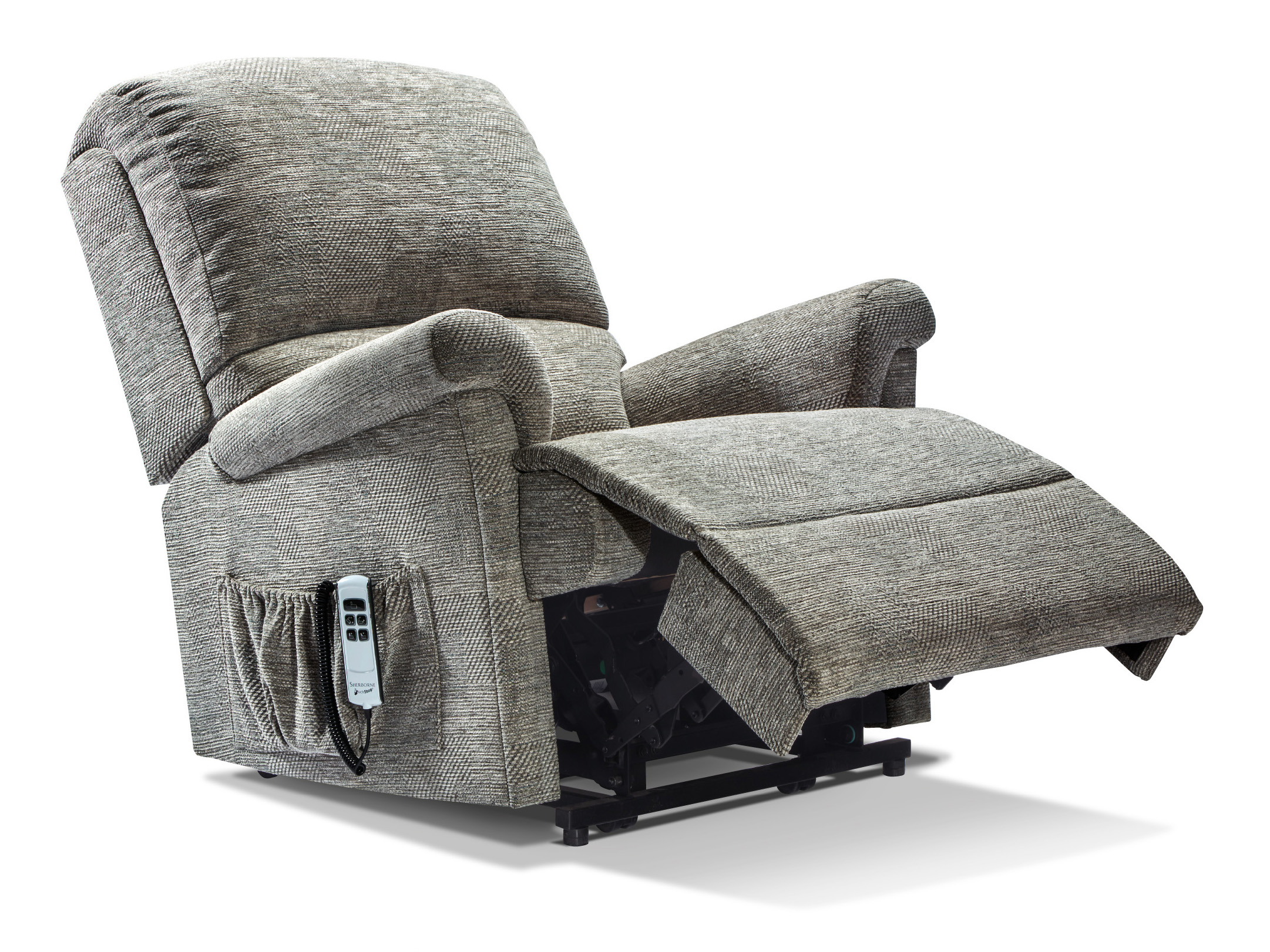 Superb Nevada Royale Fabric Electric Riser Recliner Sherborne Ocoug Best Dining Table And Chair Ideas Images Ocougorg