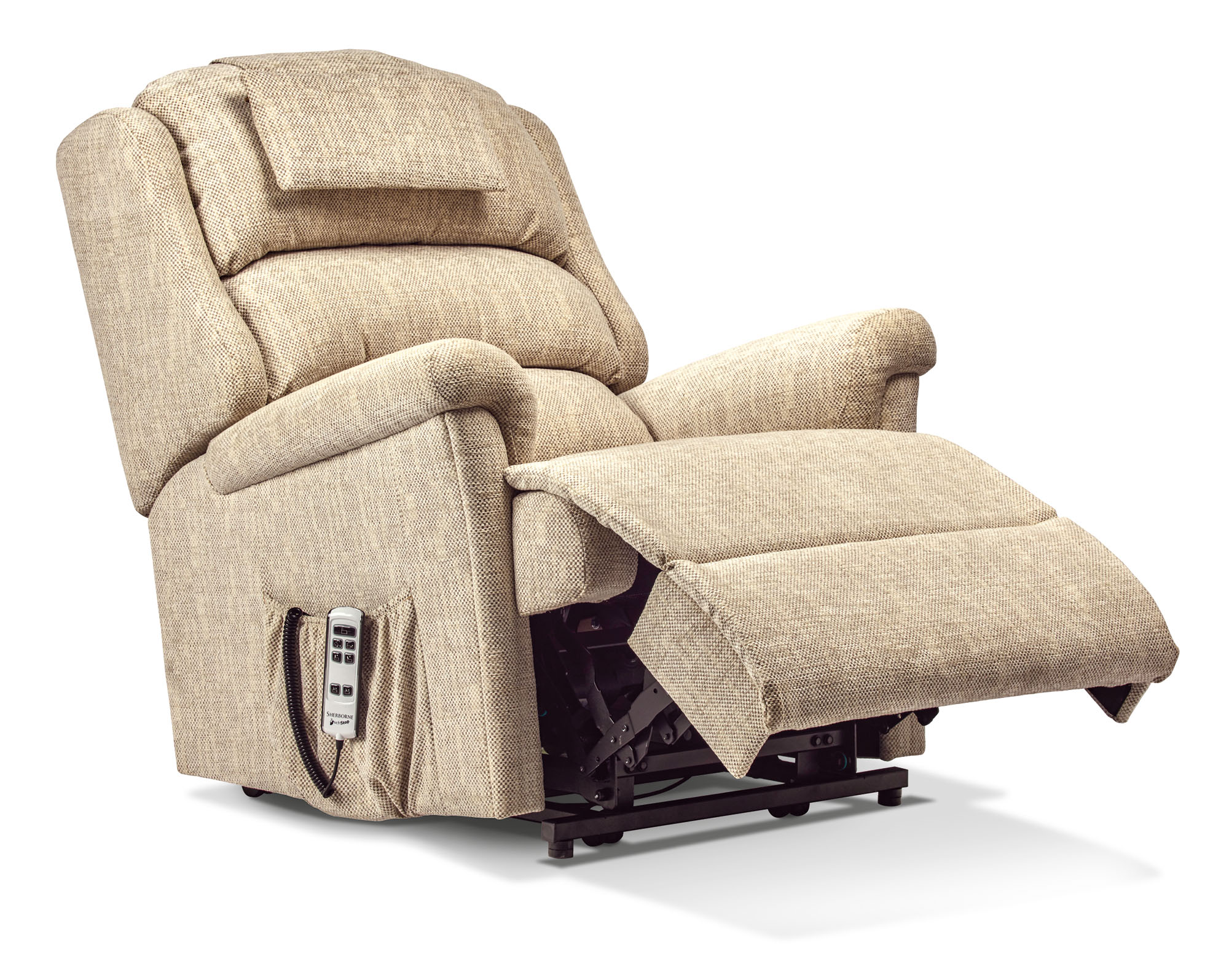 Albany Royale Fabric Electric Riser Recliner Sherborne