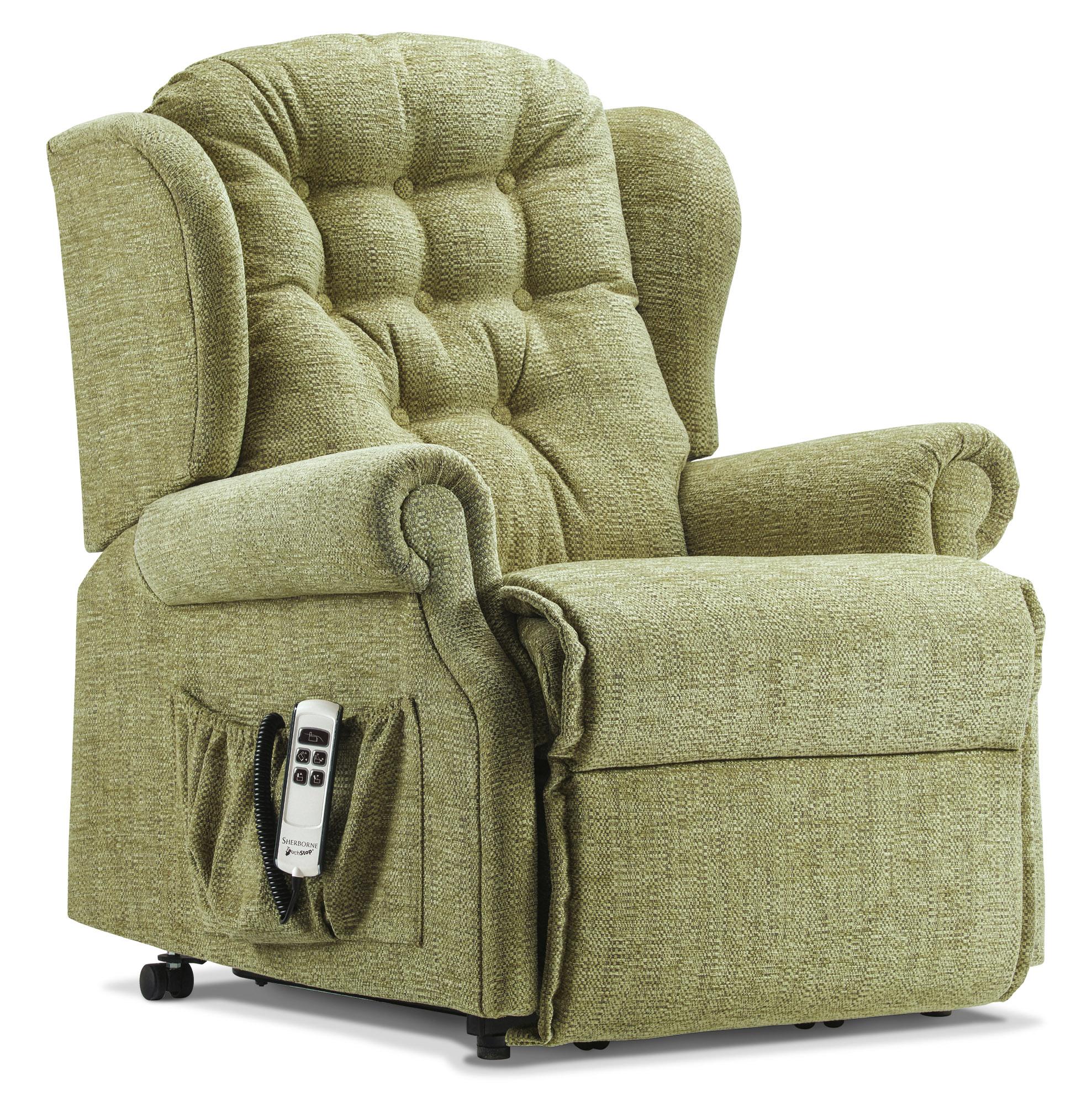 Fantastic Lynton Petite Fabric Electric Riser Recliner Sherborne Creativecarmelina Interior Chair Design Creativecarmelinacom