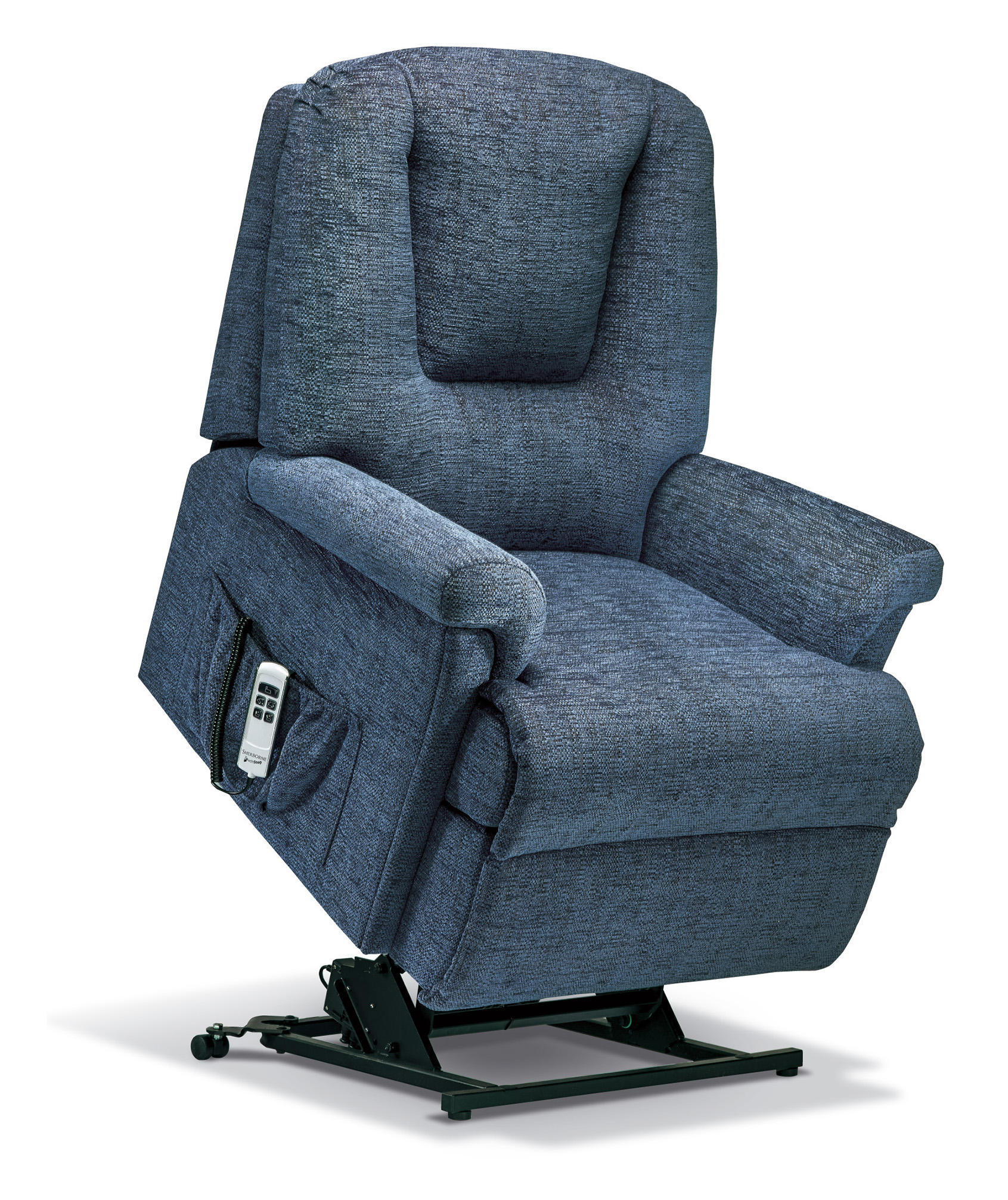 Milburn Royale Fabric Electric Riser Recliner Sherborne